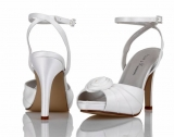 Ivory Satin Bridal Shoe Coco